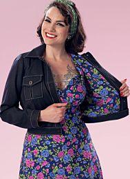 Butterick - B6390 spijker jasje