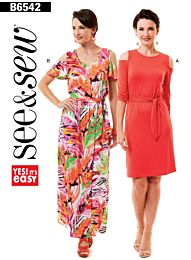 Butterick See & Sew 6542