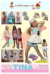 Cinderella Tina, haltertop en korte broek