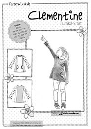 Farbenmix Clementine tricot tuniek shirt