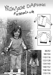 Farbenmix - DAPHNE zwart-wit*