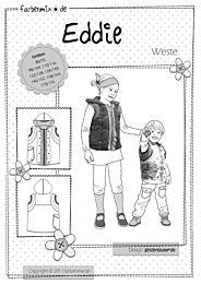Farbenmix EDDIE bodywarmer voor kinderen
