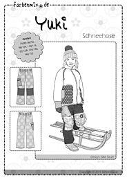 Farbenmix Yuki warme winterbroek, skibroek