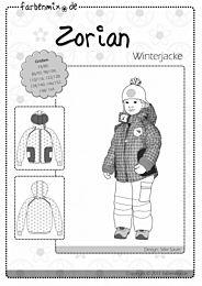 Farbenmix Zorian warme winterjas met capuchon