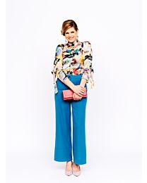 Knipmode 0419 - 2 blouse