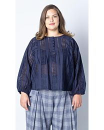 Knipmode 0519 - 20 blouse