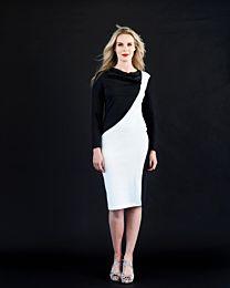 Knipmode 0819 - 9 jurk