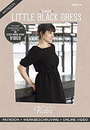 La Maison Victor Little Black Dress