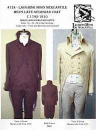 Laughing Moon Mercantile 124 tailcoat