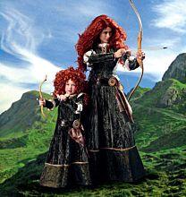 McCalls 6817 jonkvrouw kostuum