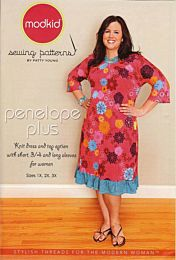 Modkid Penelope Plus tricot jurk en shirt grote maten