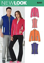 New Look 6251 sportief vest