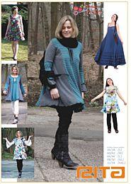Mamu Design Rita, maxi jurk, tuniek en top