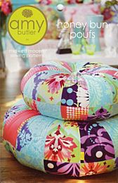 Amy Butler - Honey Bun poufs