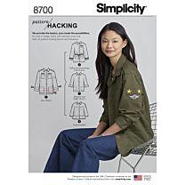 Simplicity 8700