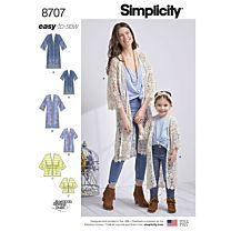 Simplicity 8707