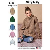 Simplicity 8738