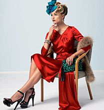 Vogue 8850 vintage jurk