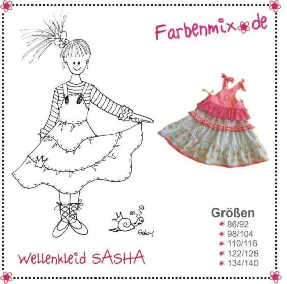 Farbenmix Sasha strokenjurk