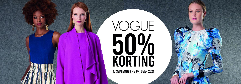 50% korting op Vogue naaipatronen