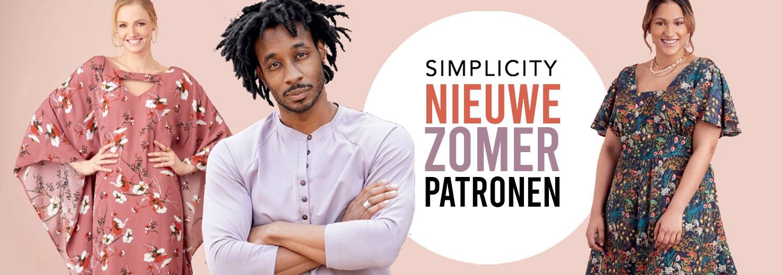 Nieuwe Simplicity patronen