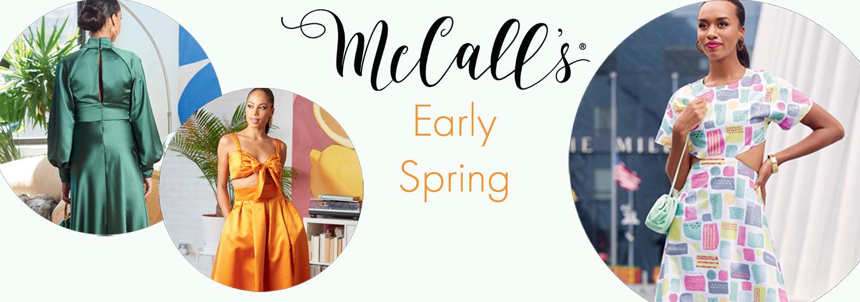 McCall's Early Spring 2021 nieuwe patronen