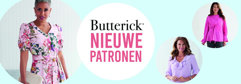 Butterick lente 2021 nieuwe patronen