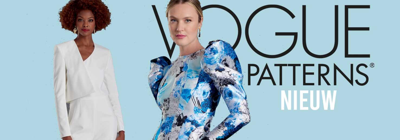 Nieuwe Vogue naaipatronen