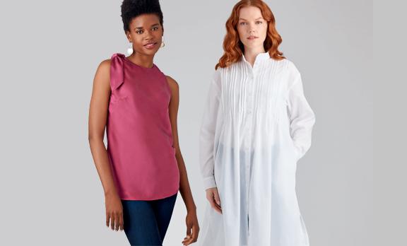de nieuwste mode om zelf te naaien