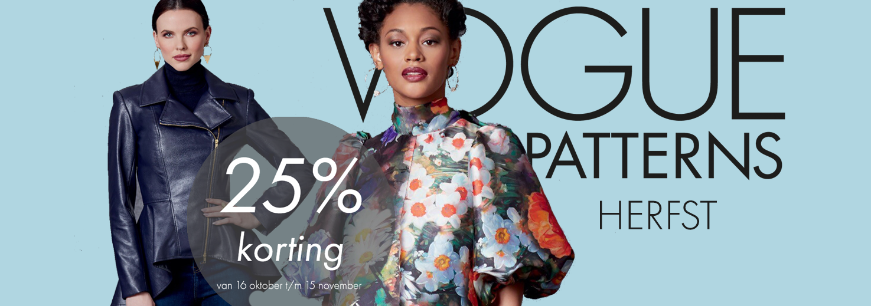 Vogue 25% korting